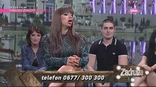 Zadruga 2, narod pita - Miljana imitira Lunu Đogani dok histeriše - 23.08.2019.