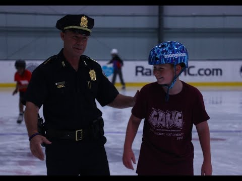 Seeing police officers in a new light: Worcester Police Gang Camp connects kids with officers and positive lessons