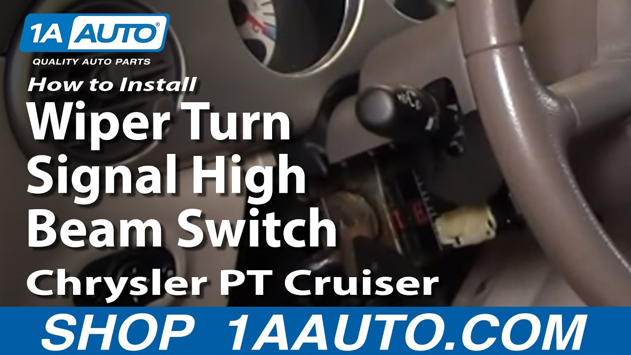 maxresdefault how to install replace wiper turn signal high beam switch chrysler 2006 chrysler pt cruiser fuse box at virtualis.co