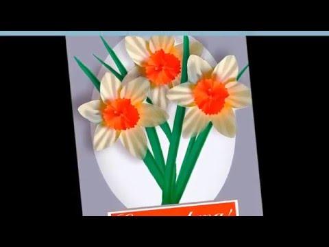 видео: Подарок  маме на 8 марта  Как сделать открытку своими руками