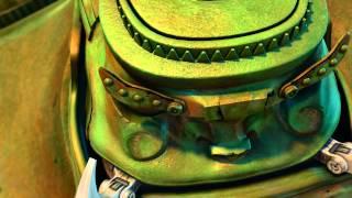 เรื่องราวการผจญภัยของเจ้าหุ่นกระป๋อง 2 ตัว ที่ถูกล่ามติดกันไว้ด้วยโ...