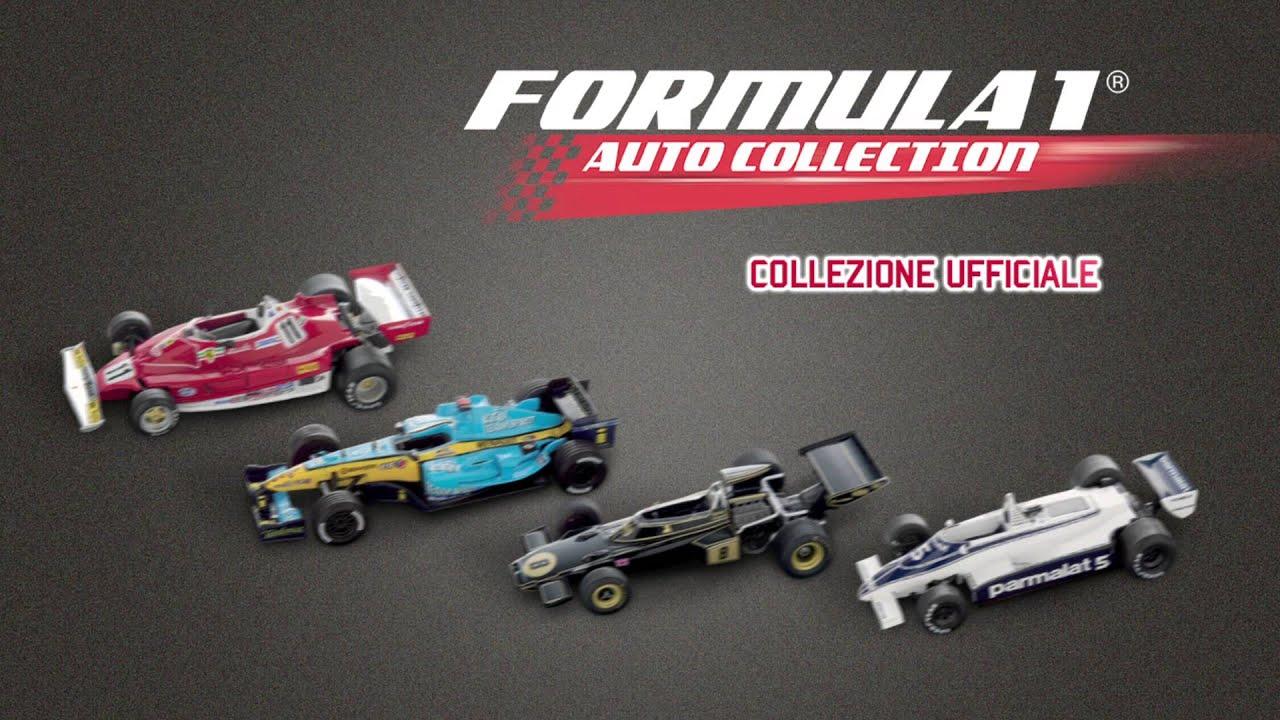 formula 1 auto collection in edicola con la gazzetta dello sport youtube. Black Bedroom Furniture Sets. Home Design Ideas