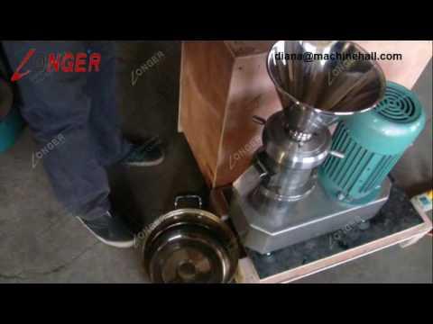 Industrial Sesame Tahini Paste Grinding Making Machine
