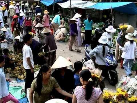 Chợ Hoa Ngày Tết 2010 - Chợ Cầu - Lang Phuong Dien
