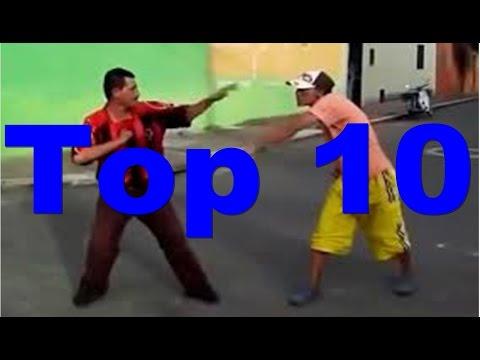 TOP 10 - AS BRIGAS MAIS LOUCAS DE BÊBADOS