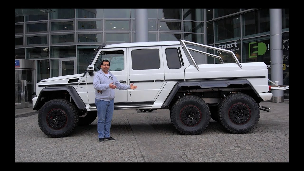 G63 Amg 6X6 >> Eng Mercedes Benz G63 Amg 6x6 Walk Around