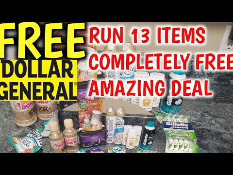 FREE FREE FREE @ DOLLAR GENERAL 13 ITEMS HURRY MUST SEE