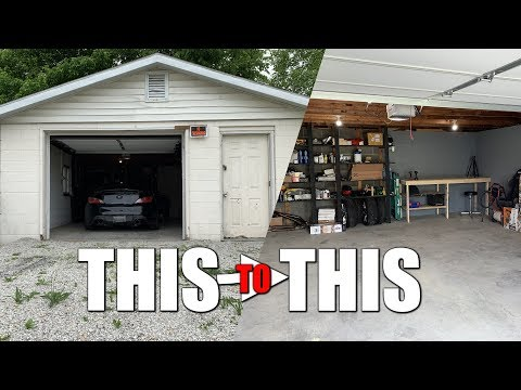 Shop Build #2 | Turning My Crack House Garage Into a Shop!