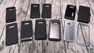 Samsung Galaxy S8 Spigen Case Lineup