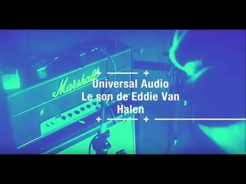 le son de Eddie Van Halen avec des plugins Universal Audio