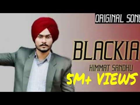 BLACKIA || HIMMAT SANDHU || PUNJABI TRACK || SHORT FILMS