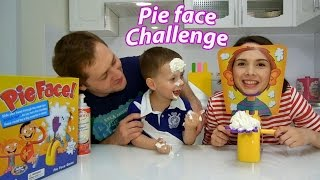 PIE FACE Challenge / Вызов Пирог в лицо / Самое веселое видео