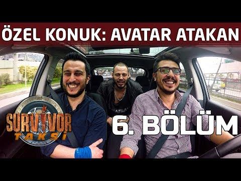 Avatar Atakan hangi yarışmacıyı kendisine benzetiyor?   6. Bölüm   Survivor Taksi
