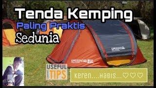 Tenda Kemping Paling Praktis Sedunia #1
