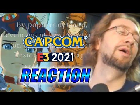 MAX REACTS: Marvel Vs. Copium – Capcom E3 2021