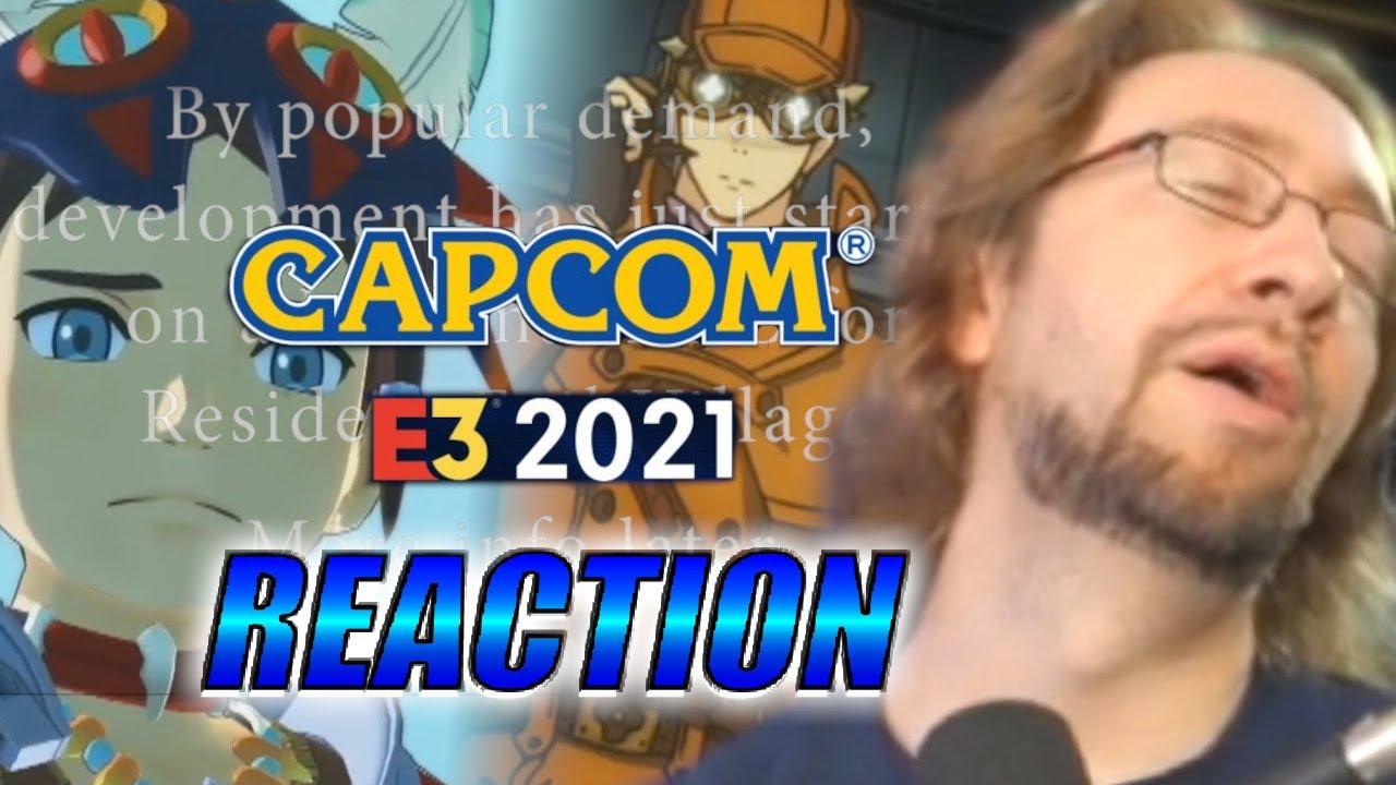 MAX REACTS: Marvel Vs. Copium - Capcom E3 2021