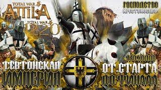 ТЕВТОНСКИЙ ОРДЕН ● От Небольшого Царства до Огромной Империи! ● Global Saga ● Total War Attila Сюжет