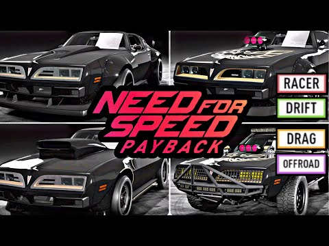 Need For Speed Payback - ALLE Super-Setups Pontiac Firebird + Tuning