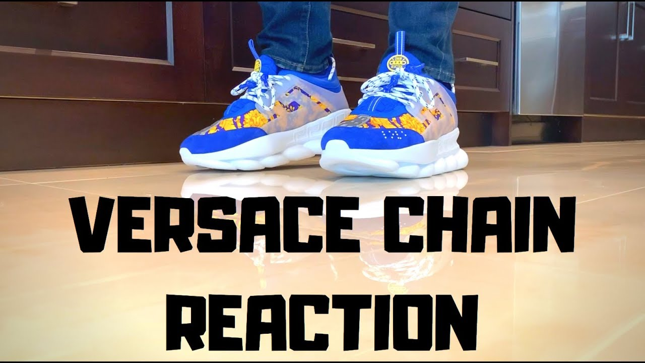 Versace Chain Reaction Unboxing+On Feet