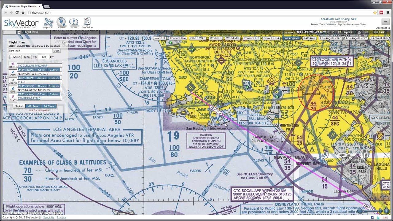 Skyvector flight vfr planning - Skyvector Flight Vfr Planning 6