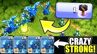 NEW LEVEL 4 ELECTRO DRAGONS ARE TOO STRONG!! Gem To Max NEW LEVEL TROOP!