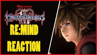 KINGDOM HEARTS 3 REMIND TGS TRAILER REACTION