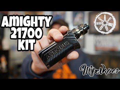 asMODus Amighty 21700 Kit Review - Solid Vape Mod