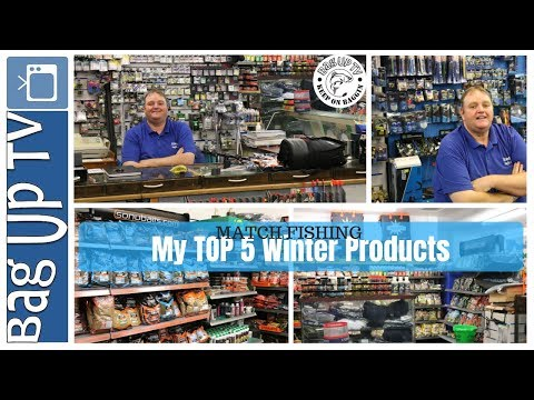 Match Fishing | My TOP 5 Winter Products With Mark Price From Stainforth Angling Centre