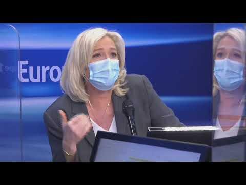Sarkozy Condamné : Marine Le Pen