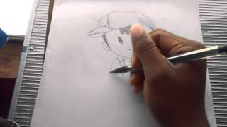 Drawing Ness From EarthBound