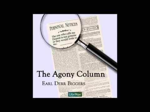 The Agony Column audiobook - part 2