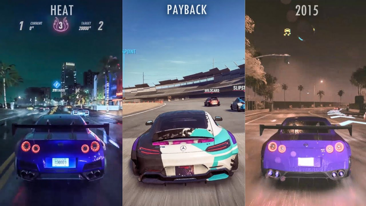 need for speed heat map vs payback