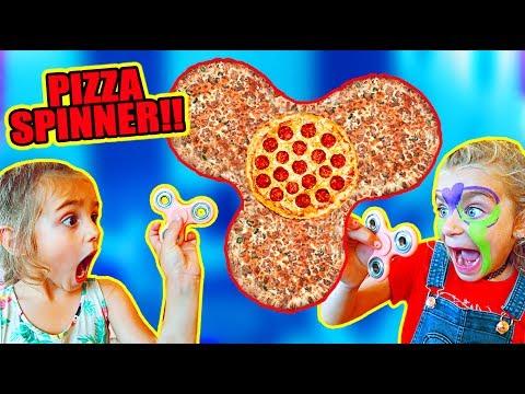 FIDGET SPINNER PIZZA