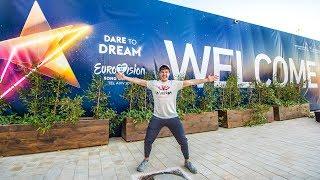 Eurovisión 2019 - Rueda de prensa de Miki después de su 1er ensayo en Tel Aviv