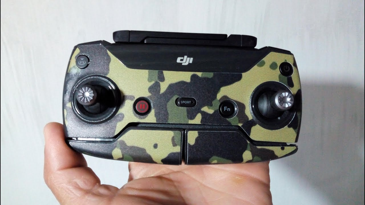 UBOXING Adesivos Camuflados Para DRONE DJI SPARK
