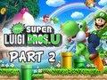 New Super Luigi U Gameplay Walkthrough - Part 2 Lemmy's Lights Out Castle Let's Play Wii U