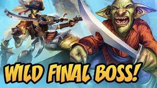 Wild Final Boss! | Rastakhan's Rumble | Hearthstone