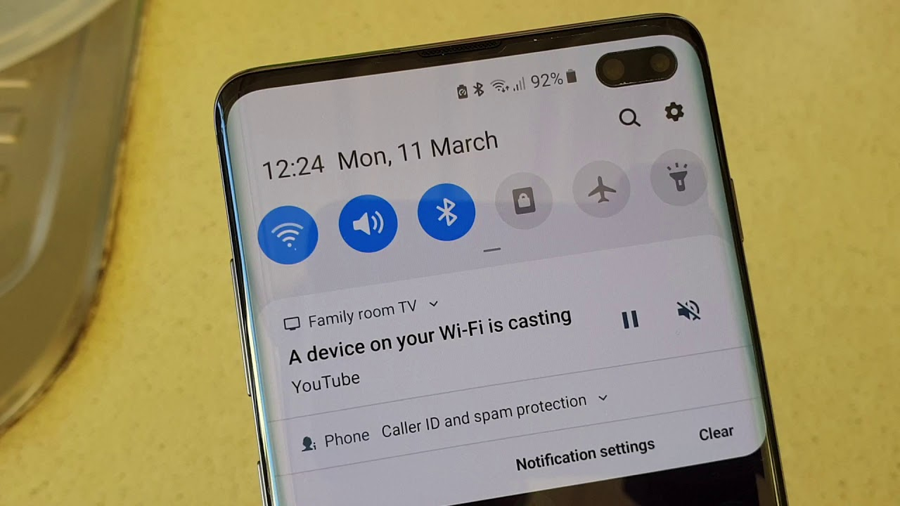Samsung Galaxy S10 / S10+: How to Connect to Wifi Network