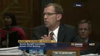 The Budget and Economic Outlook: 2014 to 2024 | Senate Budget Committee Hearing