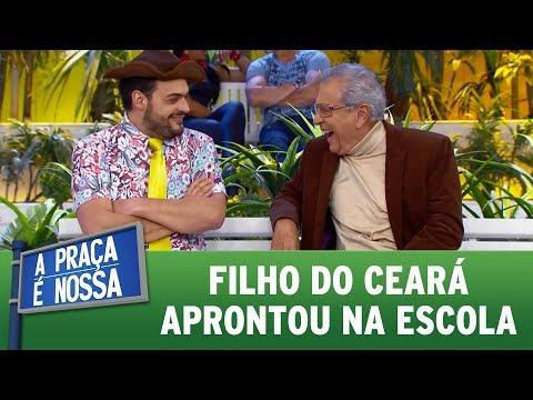 Filho do Ceará aprontou na escola | A Praça É Nossa (03/08/17)