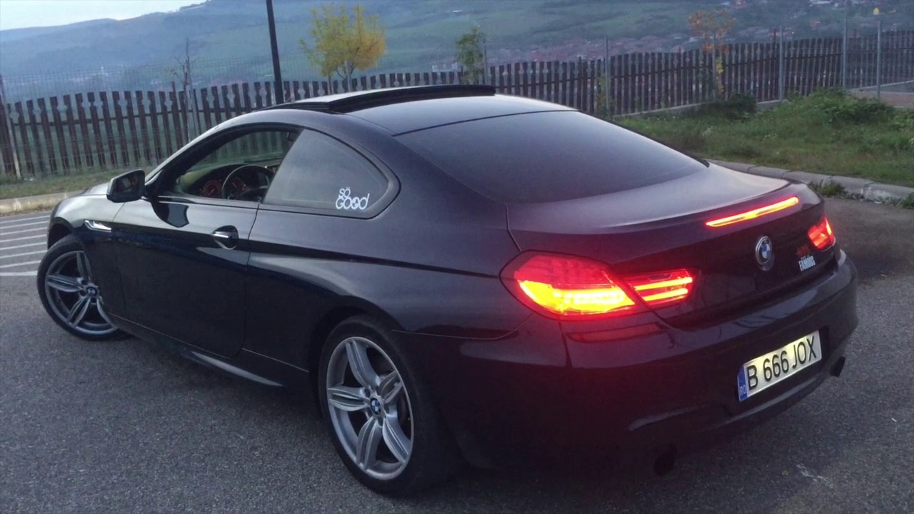 BMW 640i Cat Back Exhaust REV