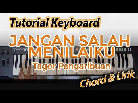Belajar Mengiringi Lagu JANGAN SALAH MENILAI KU [Chord Keyboard]