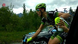 "Cyklistika: Oprava defektu, doplnenie kalórií a cikanie ""za jazdy"""
