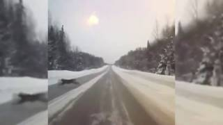 Неопознанный объект на трассе Пермь — Соликамск
