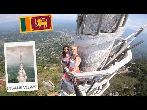 Sri Lanka's CRAZIEST Tower: The SPECTACULAR Ambuluwawa Tower!
