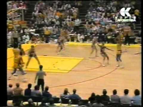 Los Angeles Lakers vs Utah Jazz (NBA 1989-90 reg. season)