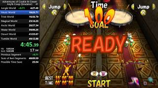 The Adventures of Cookie & Cream Any% Co-op Speedrun in 39:52.10 [World Record]