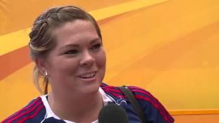 IAAF Continental Cup Marrakech 2014 Team Americas Amanda BINGSON Hammer Throw Women