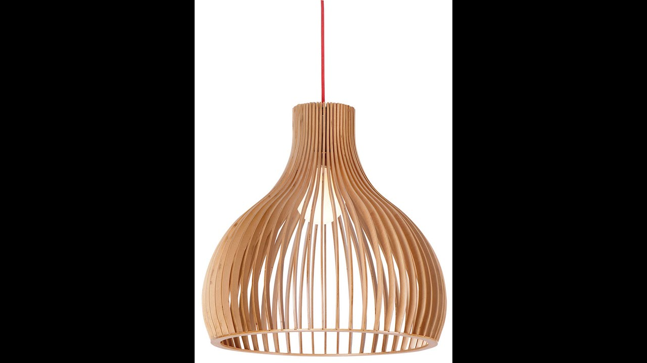 Buy wood pendant light in melbourne [malmo] - YouTube