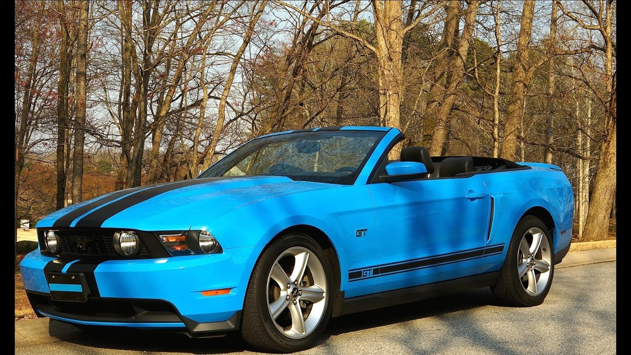 Ford Mustang Convertible Rear Speaker Replacement